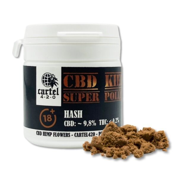 CBD KIEF – Super Pollen 5 %