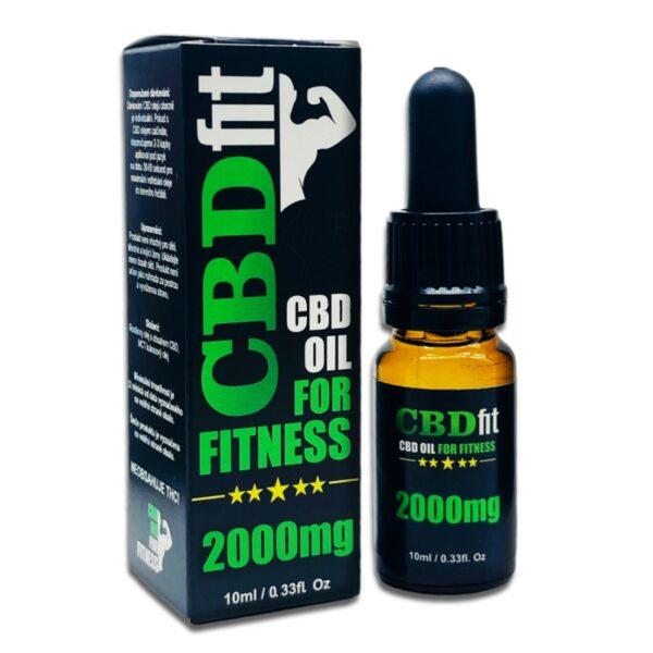 CBDfit olej 2000 mg – THC FREE