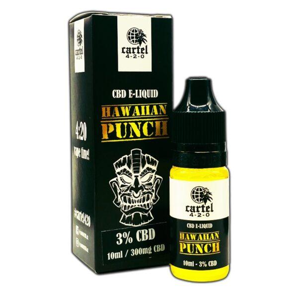 Cartel420 – CBD e-liquid HAWAIIAN PUNCH 3%