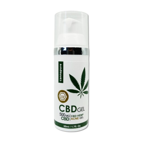 "Cannapure - CBD konopný gel ""ACNE STOP"" (500 mg CBD)"