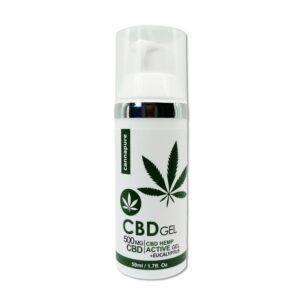Cannapure - CBD konopný gel (500 mg CBD)