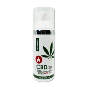 "Cannapure - CBD konopný gel ""HŘEJIVÝ"" (500 mg CBD)"