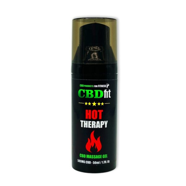 """CBDfit """"HOT THERAPY"""" gel"""